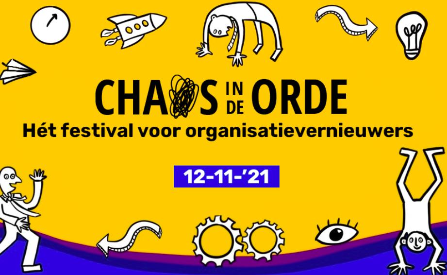 Lezing op het Orde in de Chaos festival